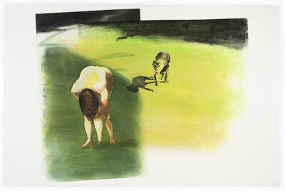 Eric Fischl, 'Beach Scene: Dog', 1989
