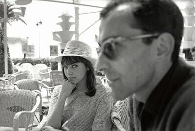 Luc Fournol, 'Jean-Luc Godard and Anna Karina, Cannes Film Festival.', 1960