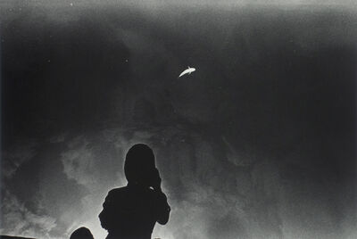 Kikuji Kawada, 'Floating Fish and a Photographer, Los Caprichos, 1975', late 1970's