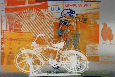 Robert Rauschenberg, 'Bicycle, 1991 National Gallery of Art Exhibition Poster', 1991