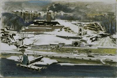 Preston Dickinson, 'Along the River'