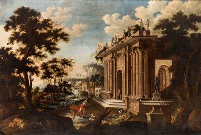 Abraham Hondius, 'Architectural Capriccio', ca. 1690