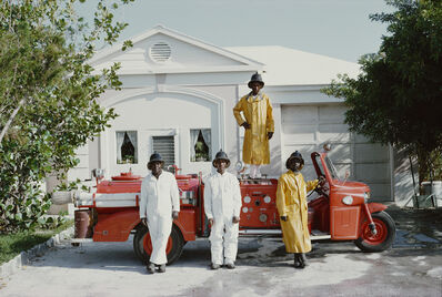 Slim Aarons, 'Lyford Cay Fire Service', 1966