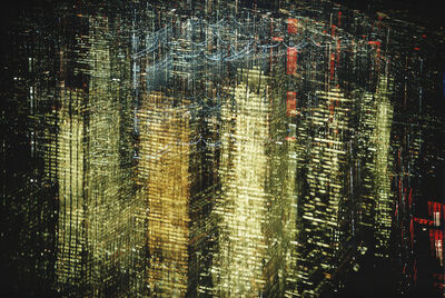 Ernst Haas, 'Lights of New York City', 1972