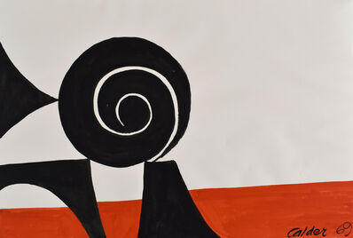 Alexander Calder, 'Balanced Spiral', 1969