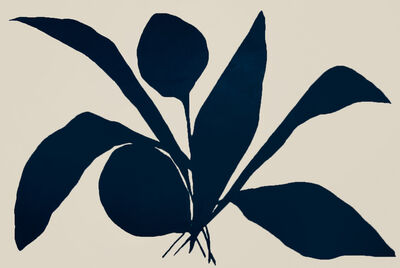 Kate Roebuck, 'Abstract Plant in Black ', 2020