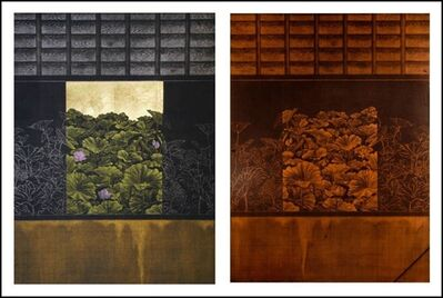 Katsunori Hamanishi, 'Window No. 5 and Plate', 2006