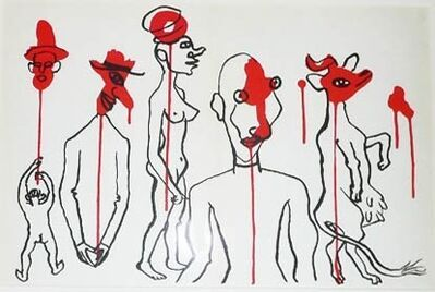 Alexander Calder, 'Derriere le Miroir #156 (Plate 5)', 1966
