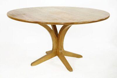 Stephen Rock, 'An Edward Barnsley Workshop olive ash dining table', 1998