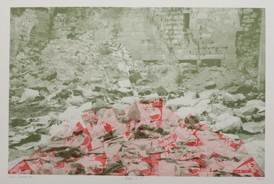 Laila Shawa, 'Of the series Wall of Gaza II: Coke is it!', 1994