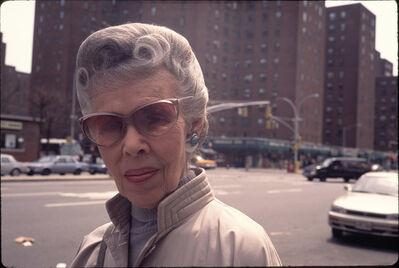 Arlene Gottfried, 'Woman, Peter Cooper Village, NY ', 1990