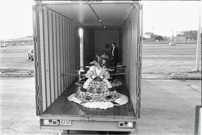 Laura Wilson, 'Debutantes Arriving at Ball in Moving Van, Laredo Texas', 1993