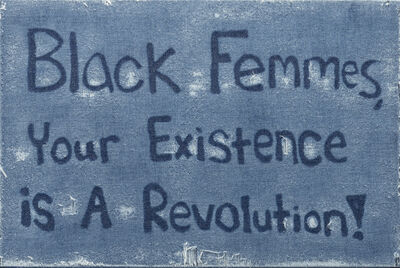 Gabriel Martinez (b. 1967), 'Black Femmes, Your Existence is A Revolution!', 2020