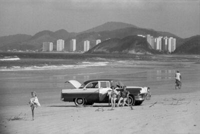 René Burri, 'Family on the beach, near Sao Paolo, Brazil', 1960