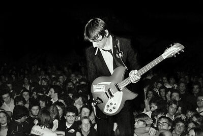 Sheila Rock, 'Paul Weller & The Jam live at Friars, Aylesbury, UK', 1978