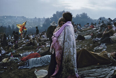 Burk Uzzle, 'Woodstock (Ercolines with butterfly)', 1969