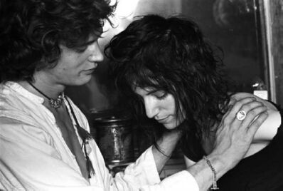 "Norman Seeff, 'Robert Mapplethorpe & Patti Smith, New York, (""Robert and Patti Classic"")', 1969"