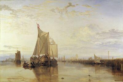 J. M. W. Turner, 'Dort or Dordrecht: The Dort Packet-Boat from Rotterdam Becalmed', 1818
