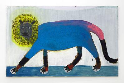 Matthias Dornfeld, 'Untitled (lion yellowbluepink)', 2017