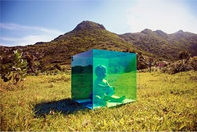 Tierney Gearon, 'Untitled (Baby in Box, St. Barts) from the COLORSHAPE Series', 2013