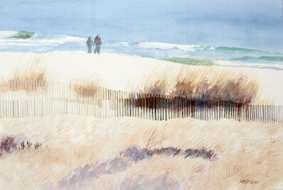 Bill Kreitlow, 'Cold Walk by the Sea', 2017