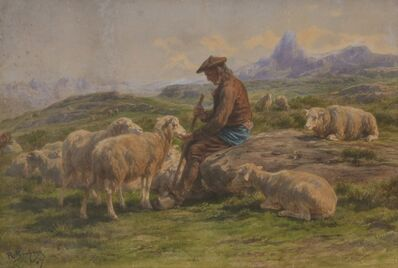 Rosa Bonheur, 'Shepherd', 1867