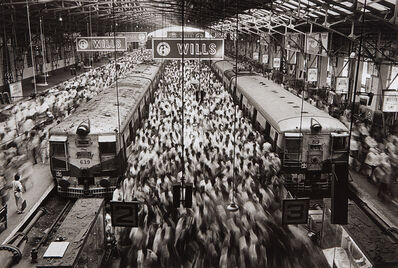 Sebastião Salgado, 'Churchgate Station, Western Railroad Line, Bombay, India', 1995
