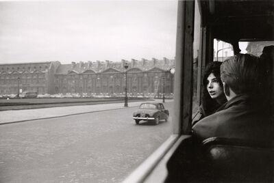 André Kertész, 'Fall in the Tuileries, Paris', 1963 / 1963c