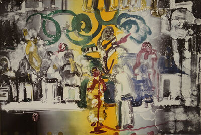 Romare Bearden, 'Introduction for a Blues Queen (Uptown at Savoy) from Jazz Series', 1979