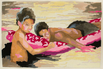 Ruth Owens, 'Boyguide II, study', 2019
