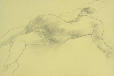 Sidney Goodman, 'Nude Figure on Bed', ca. 1964