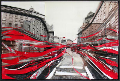 Kathy Kissik, 'Chaos In London', ca. 2015