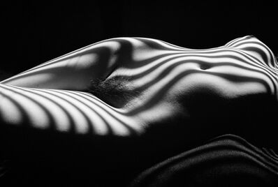 Lucien Clergue, 'Nu zébré (New York 2013)', 2013