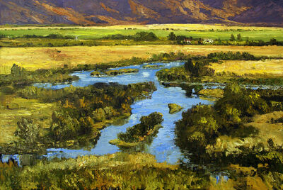 James Cook, 'Silver Creek, August'