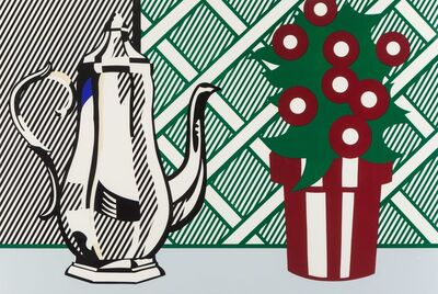 Roy Lichtenstein, 'Still Life with Pitcher and Flowers, from Six Still Lifes', 1974