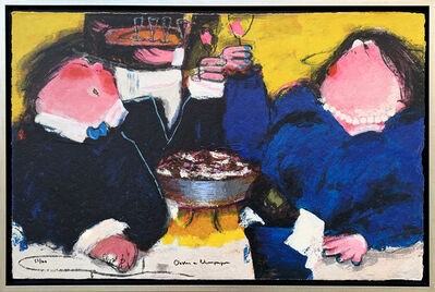 Gerdine Duijsens, 'Oesters en Champagne (55/100) ', ca. 2019