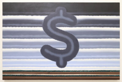 Roger Brown, 'Landscape with Dollar sign', 1991