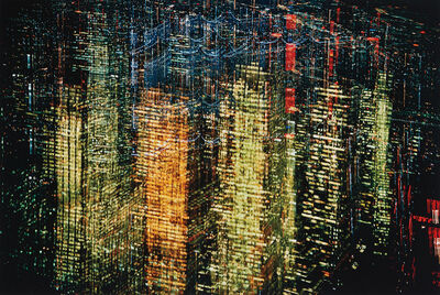 Ernst Haas, 'Lights of New York City, NY', 1970