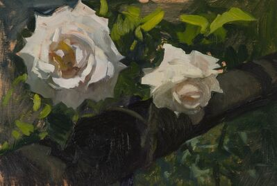 Marc Dalessio, 'Two Roses', 2015