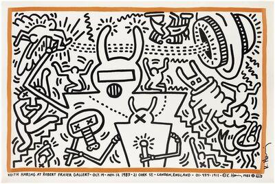 Keith Haring, 'Keith Haring at Robert Fraser Gallery', 1983