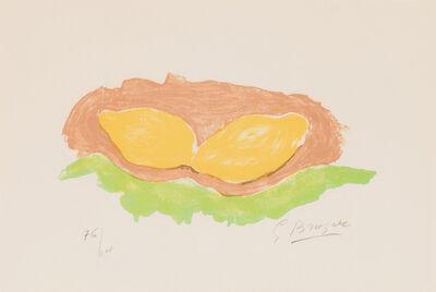 Georges Braque, 'Les Citrons (V. 88)', 1954