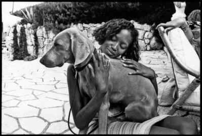 Jean Pigozzi, 'Naomi Campbell, Villa Dorane-Antibes', 1993