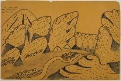 Joseph Yoakum, 'Pine Mountain Near Middlesboro Kentuckey', 1964, 04, 07 00:00:00 UTC