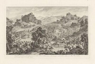 Isidore-Stanislaus-Henri Helman, 'Amour-sana marchant avec s'curit' … la tˆte des Troupes... (plate VII)', 1783