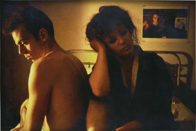 Nan Goldin, 'Self Portrait in Kimono with Brian, NYC', 1983