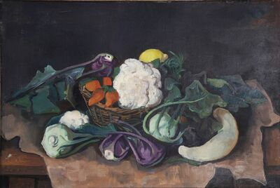 Karl Hofer, 'Gemüsestilleben', 1938