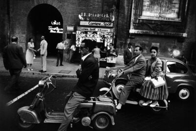 William Klein, 'Red light, Piazzale Flaminio, 1956', 1956