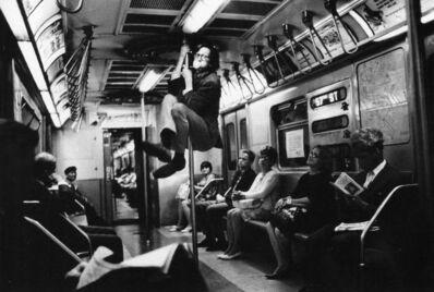 Harry Benson, 'R. Crumb, NY Subway', 1968