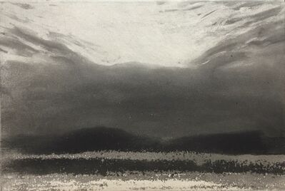 Norman Ackroyd, 'The Gower in Twilight', 2019