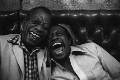 Jane Evelyn Atwood, 'James Baldwin with his brother David, Paris', 1981